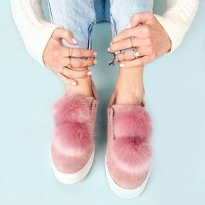 Sam edelman pom pom sneakers in pink